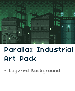 Industrial Parallax Background